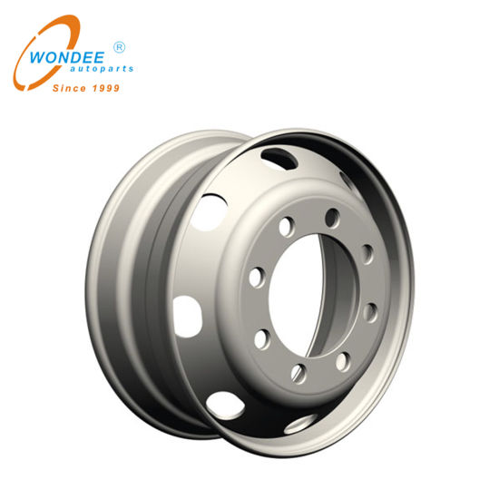 19.5 Inch 19.5*6.75 Truck Tubeless Steel Wheel Rims