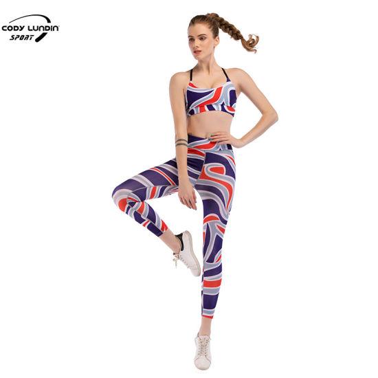 Cody Lundin Wholesale Custom Summer Sportswear Sexy Yoga Wear Jogging Suit