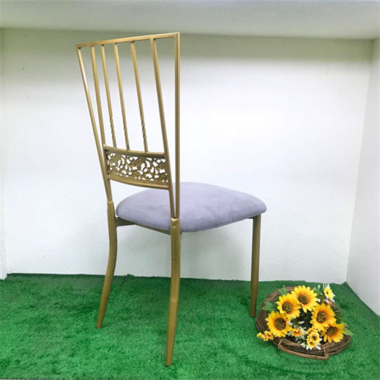 New Model Wedding Party Iron Banquet Chair pictures & photos