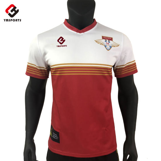 High Quality Custom Sublimated Rugby Jersey