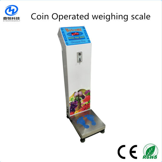 Coin Operated Airport Luggage Scale 500kg pictures & photos