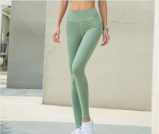 bc5f9a7b2 High Waisted Leggings Fitness Yoga Wear Cropped Gym Tights Women Elastane Gym  Yoga Pants. Get Latest Price