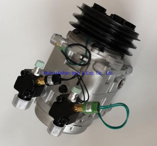 Bus Air Conditioner Compressor TM31 /Zexcel Dks32 12V 8PV 156mm