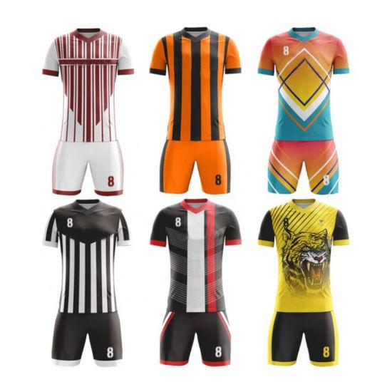 b9276756fdd Wholesale Sublimation Printing Cheap Thai Quality Custom Soccer Jersey