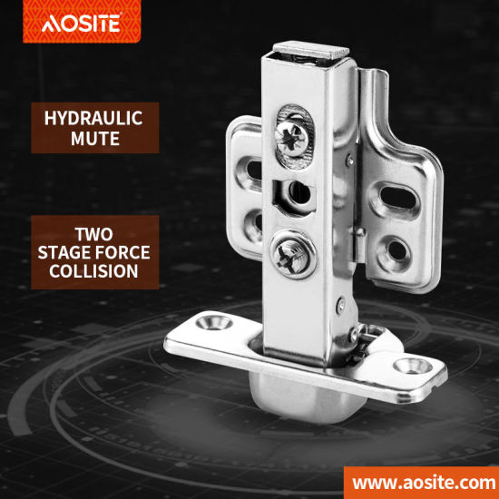 A03 Adjustable hydraulic damping hinge door hinge Kitchen Hinges Furniture Cabinet Stainless Steel Furniture Accessory