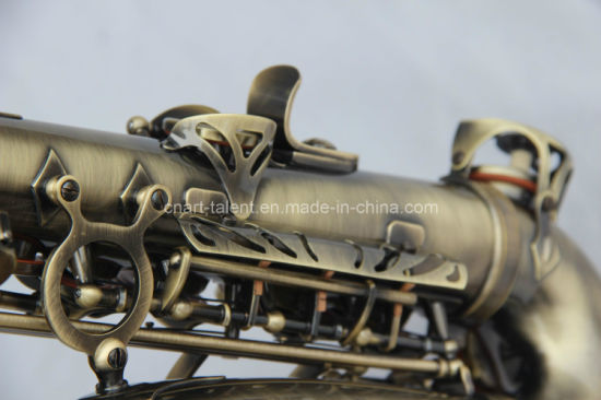 Antique Gold Alto Saxophone (AS-130AB) pictures & photos