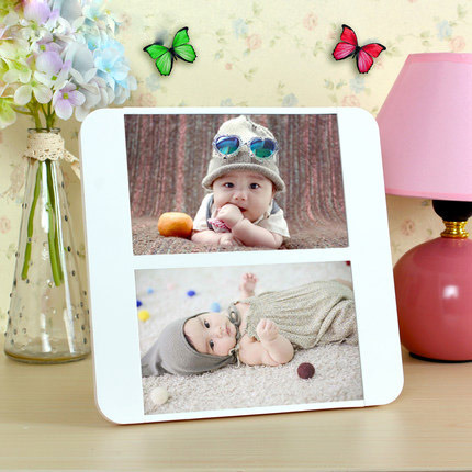 Custom New Style Transparent Acrylic Photo Frame pictures & photos