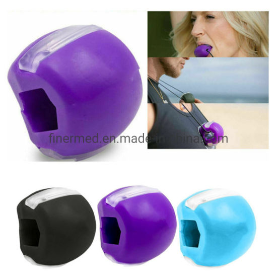 Jawlineme Jawzrsize Jawline Chewing Silicone Exercise Ball Jaw Exerciser pictures & photos