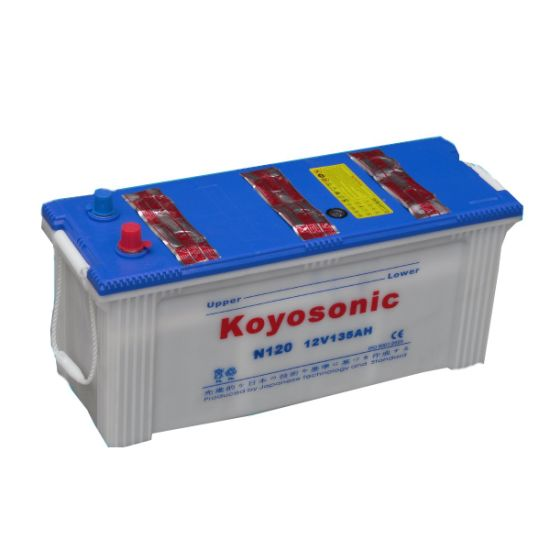 Good Performance DIN Standard 12V 155ah Dry Charged Car Batteries for Truck