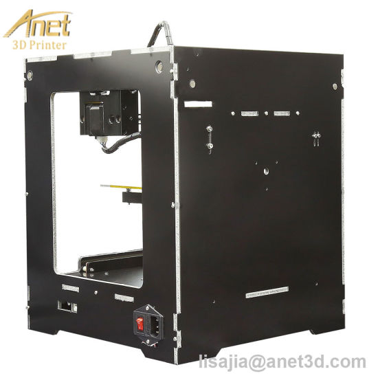 2017 Newest High Performance Shining 3D Desktop 3D Printer (Alloy Framework, High Accuracy, Stability and Speed, Large Build Size) - Various Color pictures & photos