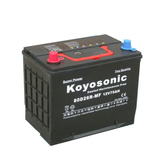 Cheap Price Mf 12V 70ah Global Car Car Battery Automotive Battery