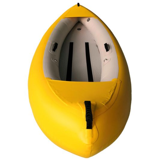Dfaspo Drop-Stitch Fishing Boat Yacht Canoe Single or Double Inflatable Kayak