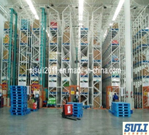Automatic Storage and Retrieval Shelf Rack Pallet System