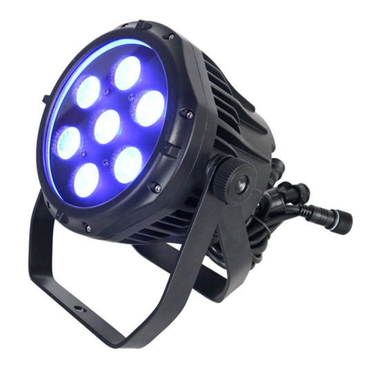 Outdoor Wall Washer DJ Stage Lighting DMX LED Light RGBW 70W IP65 LED PAR Zoom Can Light