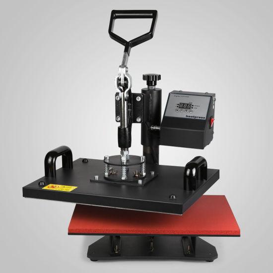 Vevor Heat Press 12X15 Inch Heat Press Machine 9 in 1 Professional Multifunctional Sublimation Swing Away Heat Press 360 Degree Rotation Heat Press Machine