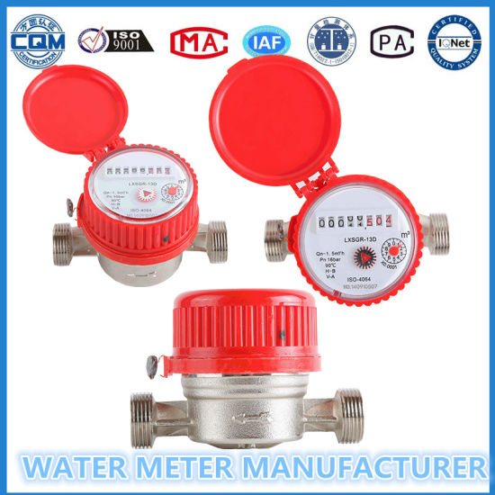 ISO9001 Single Jet Cold/Hot Water Meter pictures & photos