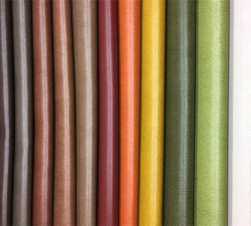 Grs Recycled Synthetic Artificial Vegan PVC PU Upholstery Leather for Furniture/Sofa/Upholstery/Car Seat/Cloth -Toledo