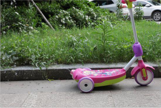 Wholesale 3 Wheel Child Kick Bubble Scooter Unfoldable for Kids