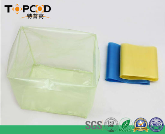 Yellow Green Blue Color Vci Film Packing Bag pictures & photos