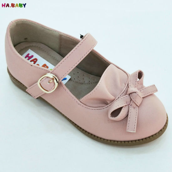 New Design Bow Princess Children Girl Shoes