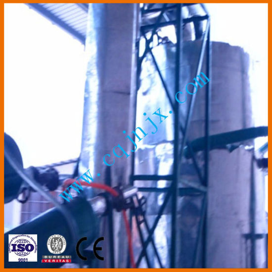 Waste Oil Distillation System/Waste Diesel Oil/Engine Oil Recycling System pictures & photos