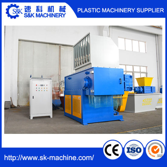 Shredder for Plastic Drum and Waste Blocks pictures & photos
