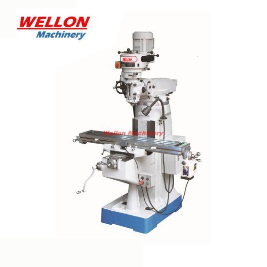 Turret Milling Machine X6323A Universal Milling Machine