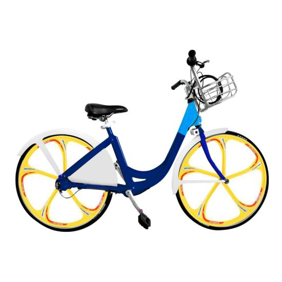 China City Rental Bicycle with Aluminum Alloy Frame Self Rent Urban ...