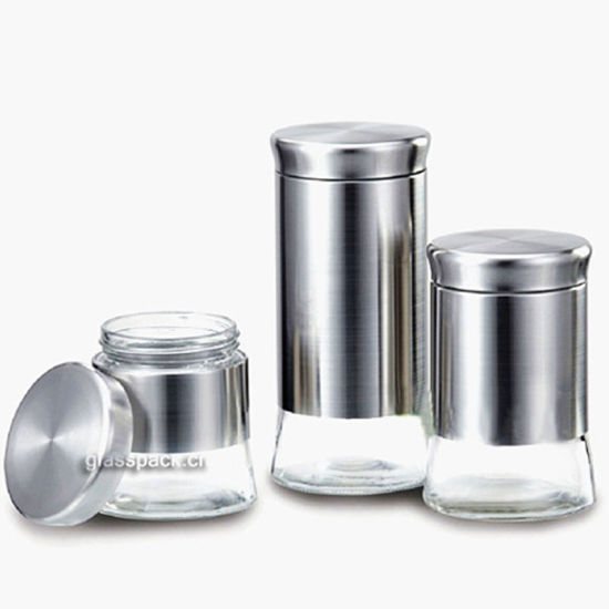 Tea Coffee Sugar Kitchen Storage Canisters Jars Pots Containers Set, OEM  Available