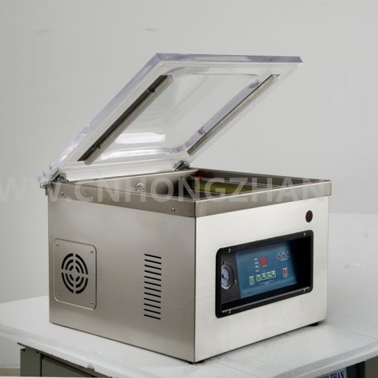 Hongzhan Dz400 Table Top Commercial Use Vacuum Sealer with 40cm Sealing Line pictures & photos