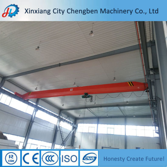Mechanical Workshop Equipment 20 Ton Single Beam Overhead Crane pictures & photos