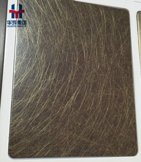 Antique Brass Plating Stainless Steel Decorative Sheet