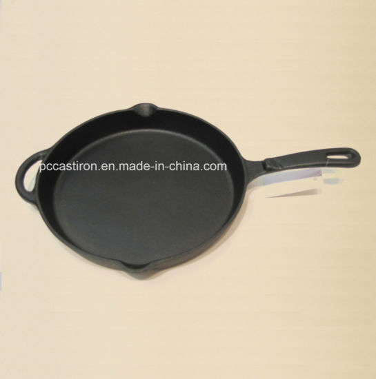 OEM ODM Production Cast Iron Frypan China Factory pictures & photos