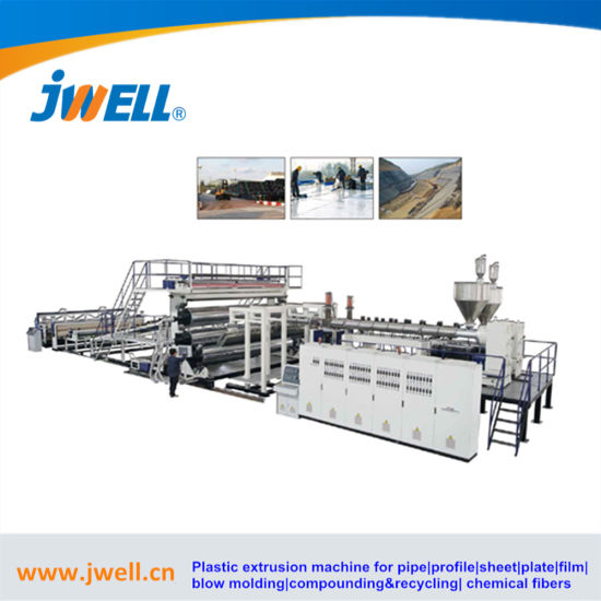 PE & PP Water Containment Liners Aquablock HDPE, LLDPE & PP Geomembrane Geocell Geotxtile Plastic Sheet Extrusion Machine