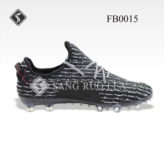 Flyknits Soccer Shoes From Shoes Manufactrues, Hot Selling Comfortable Sport Soccer Shoes, Fly Woven Football, Soccer Factory, Football Shoes Factory