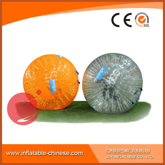 Good Quality PVC Grass Ball Body Bubble Ball for Sale Z2-103 pictures & photos