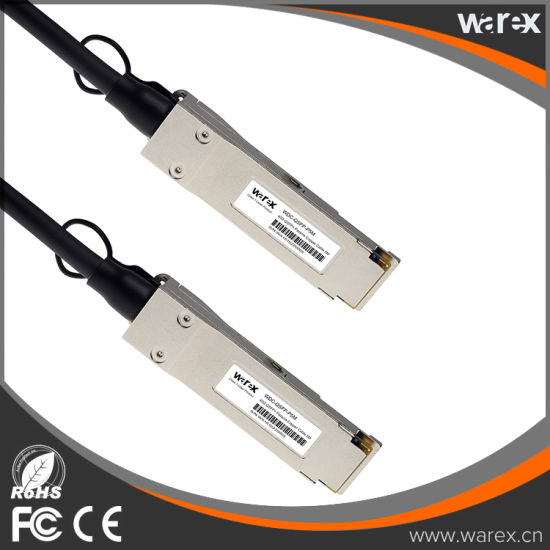 Compatible QSFP-H40G-CU5M QSFP+ Direct Attach Copper Cable 5M pictures & photos
