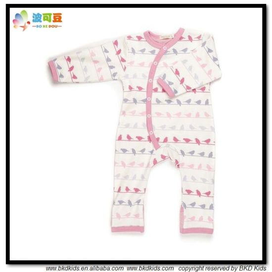 All-Over Printing Baby Apparel OEM Service Baby Jumpsuits