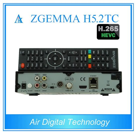 DVB-S2+2xdvb-T2/C Dual Tuners Zgemma H5.2tc Bcm73625 Linux OS Enigma2 Satellite/Cable Receiver at Factory Price pictures & photos