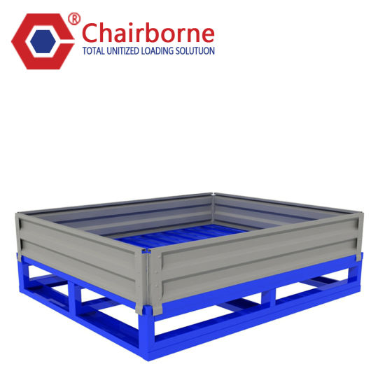 Heavy Duty 2-Way Entry High Quality Steel Metal Pallet with Standard Size