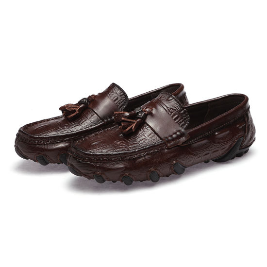 Wholesale High Quality Lok Fu Shoes Casual Shoesdriving Shoes Size Is Complete Welcome to Purchase