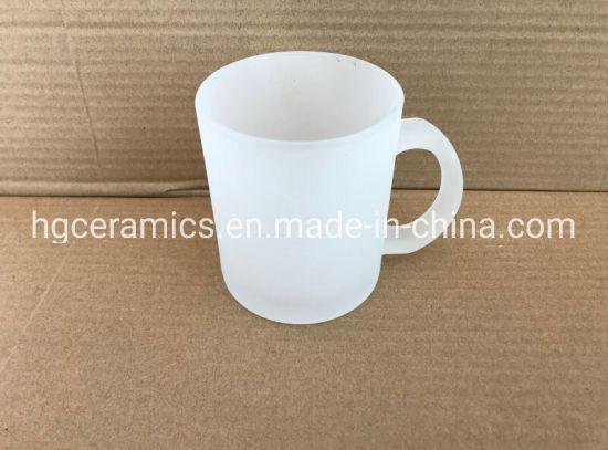 11oz Sublimation Frosted Mug, Frosted Glass Mug, Sublimation Glass Mug