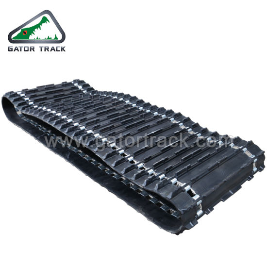 China Rubber Track 500 Width for Snowmobile Tracks Rubber - China