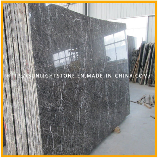 Cheap Chinese Hang Grey Stone Marble for Tiles and Vanity Tops pictures & photos