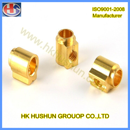 CNC Turning Copper Parts for Auto, Electronic, Mechanical Industry (HS-TP-012) pictures & photos