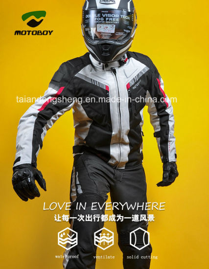 Mens Oxford Motoboy Motorcycle Jacket with SGS Ce BV Jacket