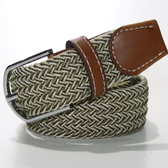 J01 Special Color Fashion Elastic Webbing Belts for Men and Woman