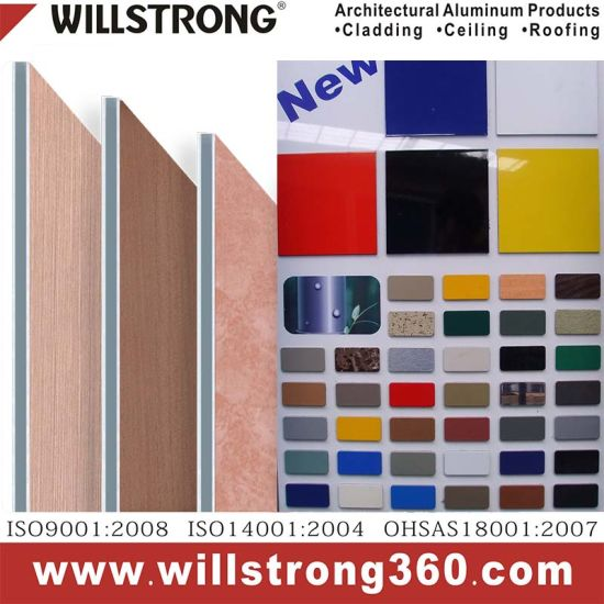 Custom Color Aluminum Composite Material for Facade pictures & photos