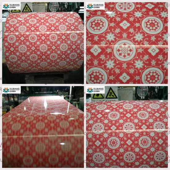 New Design Prime Quality Flower Pattern PPGI pictures & photos