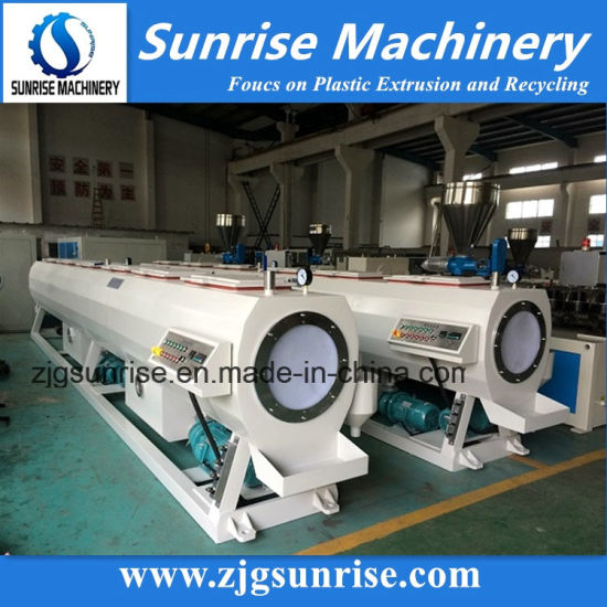 High Efficient Plastic PVC Water Supply Pipe Production Line for Sale pictures & photos